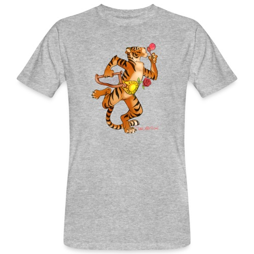 Tiger Vari - Männer Bio-T-Shirt