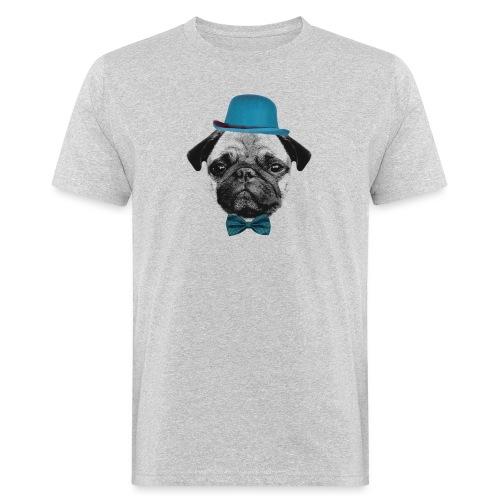 Mops Puppy - Männer Bio-T-Shirt
