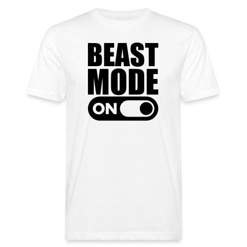 BEAST MODE ON - Men's Organic T-Shirt