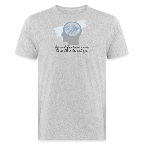 camiseta con mensaje positivo - Camiseta ecológica hombre