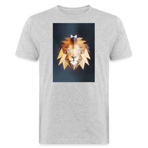 Polygon Lion - Männer Bio-T-Shirt