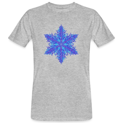 Schneeflocke III - Männer Bio-T-Shirt
