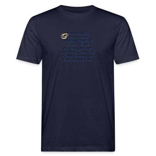 Mawwiage (blue) - Men's Organic T-Shirt