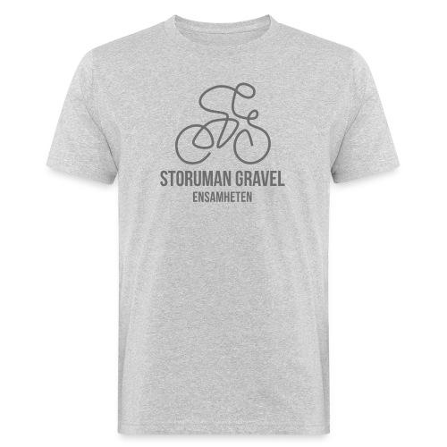Storuman Gravel / grå - Ekologisk T-shirt herr