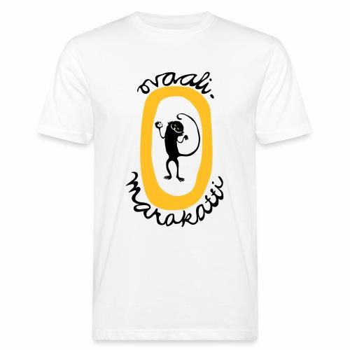 Ovaalimarakatti - Miesten luonnonmukainen t-paita