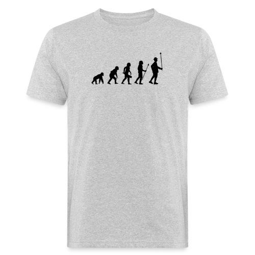 Stabführer Evolution - Männer Bio-T-Shirt