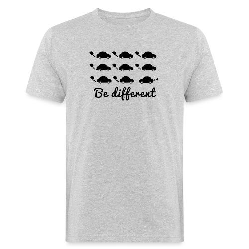 Be different - Männer Bio-T-Shirt