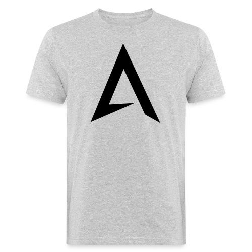 alpharock A logo - Men's Organic T-Shirt