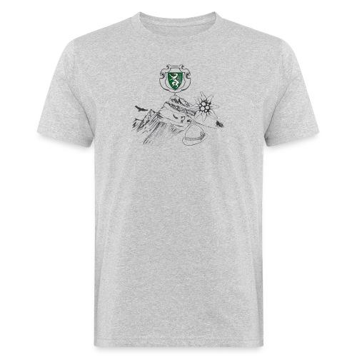 Steirische Heimat - Männer Bio-T-Shirt