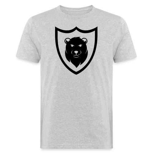 Baerspektivo Logo in schwarz - Männer Bio-T-Shirt