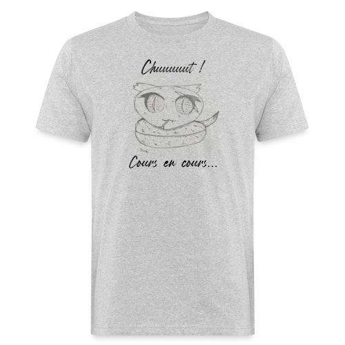 Serpent_chut - T-shirt bio Homme