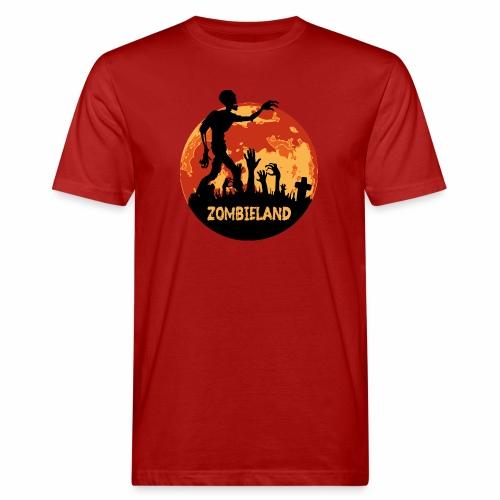 Zombieland Halloween Design - Männer Bio-T-Shirt