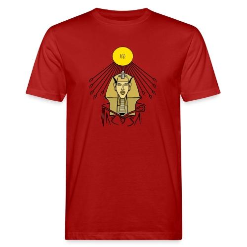 Echnaton der Sonnenkönig - Männer Bio-T-Shirt