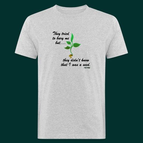 Rinascita - T-shirt ecologica da uomo