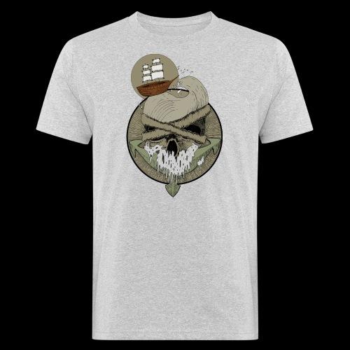 Ancre skull - T-shirt bio Homme
