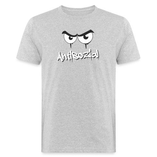Antisozial - Männer Bio-T-Shirt
