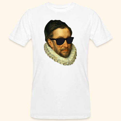 Fijn Uitgedoste Barbaar (zonder tekst) - Mannen Bio-T-shirt