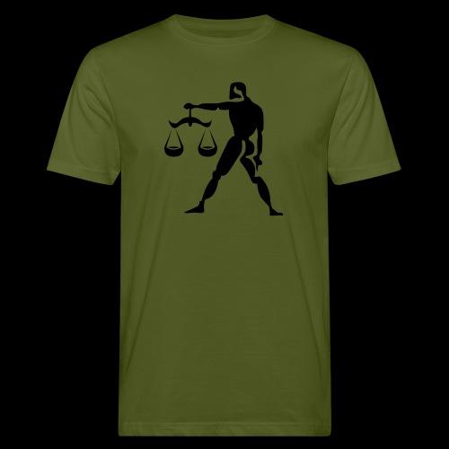 STERNZEICHEN WAAGE - Männer Bio-T-Shirt