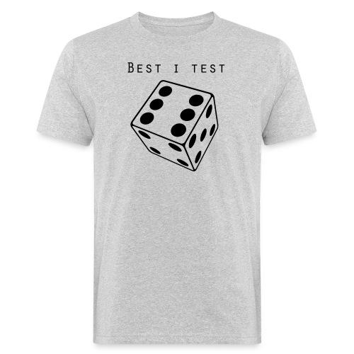 Best i test - Økologisk T-skjorte for menn