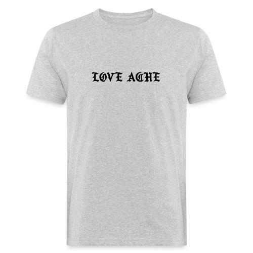 LOVE ACHE - Mannen Bio-T-shirt