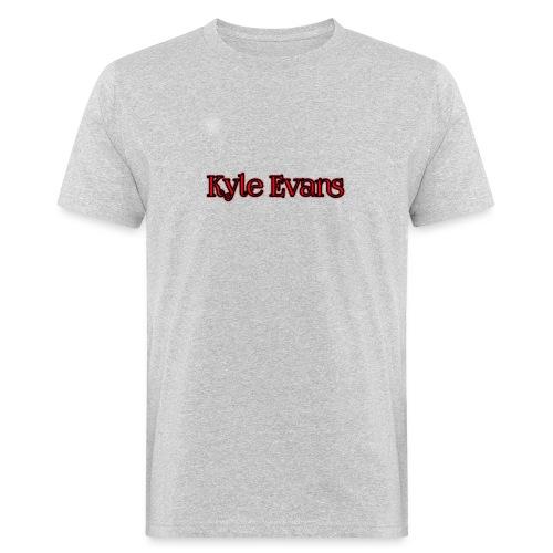 KYLE EVANS TEXT T-SHIRT - Men's Organic T-Shirt