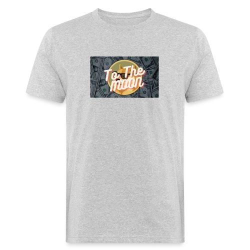 Dogecoin To the moon - Ekologisk T-shirt herr