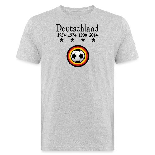 Moderne Fußball-T-Shirts Deutschland - Mannen Bio-T-shirt