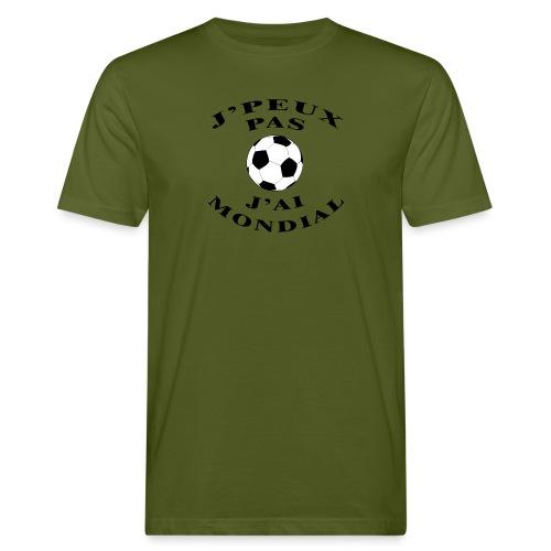 J PEUX PAS J AI MONDIAL - T-shirt bio Homme