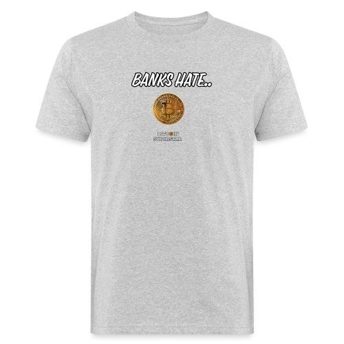 Baks hate - T-shirt ecologica da uomo
