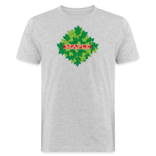 maple - Männer Bio-T-Shirt