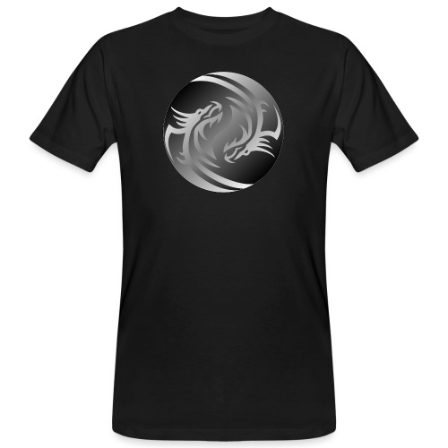 Yin Yang Dragon - Men's Organic T-Shirt