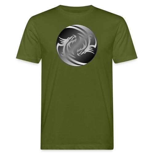 Yin Yang Dragon - Men's Organic T-Shirt
