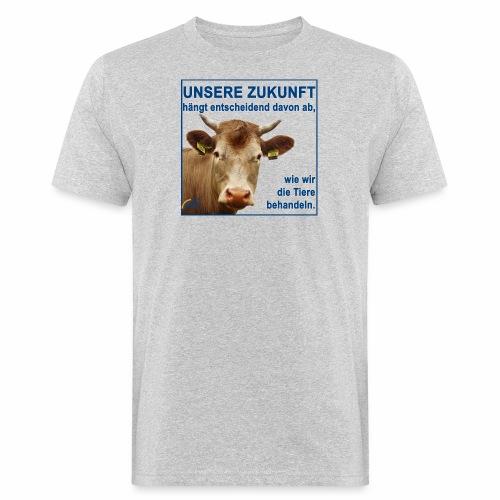 Parteishirt Zukunft - Männer Bio-T-Shirt