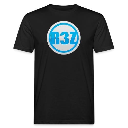 RezTv Logo - Miesten luonnonmukainen t-paita