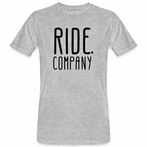RIDE.company - just RIDE - Männer Bio-T-Shirt