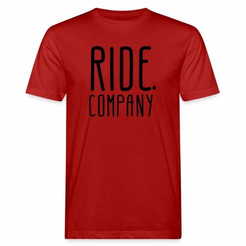 RIDE.company - just RIDE - Männer Bio-T-Shirt