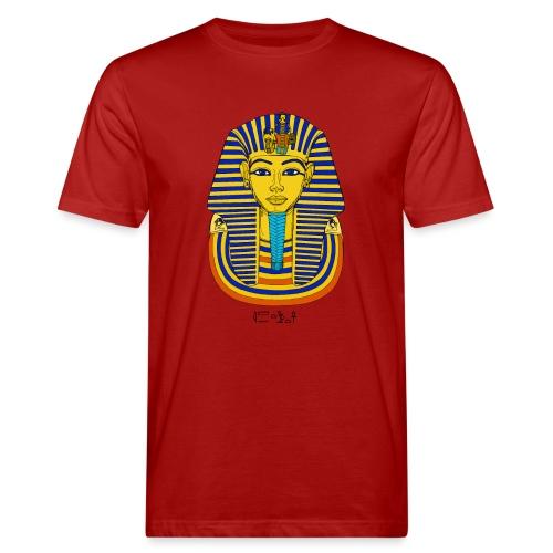 Pharao Tutanchamun - Männer Bio-T-Shirt