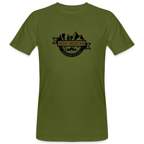 ROCKY MOUNTAIN - T-shirt ecologica da uomo