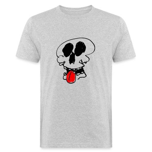 Crâne tire la langue - T-shirt bio Homme