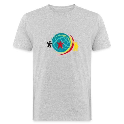 Abstand halten - Männer Bio-T-Shirt