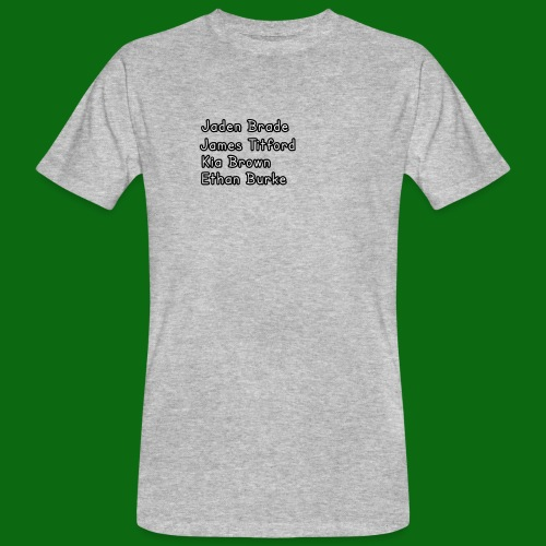 Glog names - Men's Organic T-Shirt