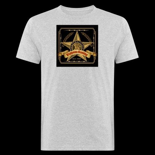 etiketti - Miesten luonnonmukainen t-paita