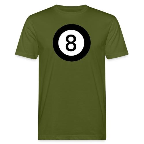 Black 8 - Men's Organic T-Shirt
