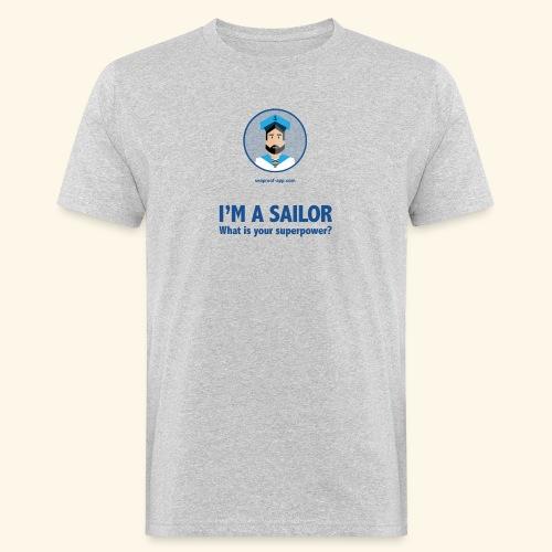 SeaProof Superpower - Männer Bio-T-Shirt
