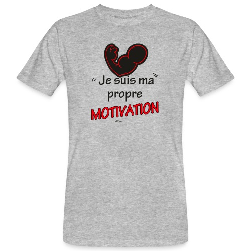 Motivation - T-shirt bio Homme