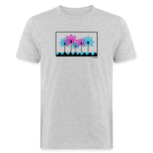 T-shirt kayak fleur pagaie 2 Femme - T-shirt bio Homme