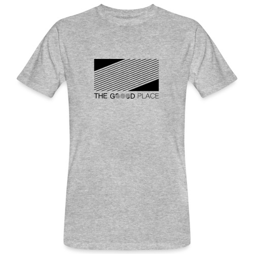 THE GOOOD PLACE LOGO - Mannen Bio-T-shirt