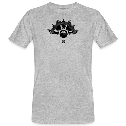 Moteur 7 cylindres REP - T-shirt bio Homme