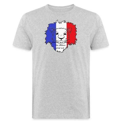 Lion supporter France - T-shirt bio Homme