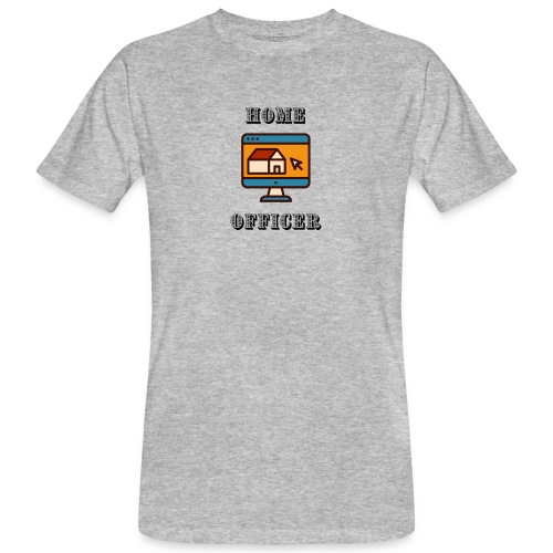HOME-OFFICER 2 - Männer Bio-T-Shirt